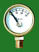 Pressure Gauge to 30psi without Mamod Stem